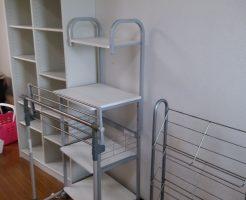 徳島市南庄町で本棚、ベッド、レンジ台の不用品回収 施工事例紹介