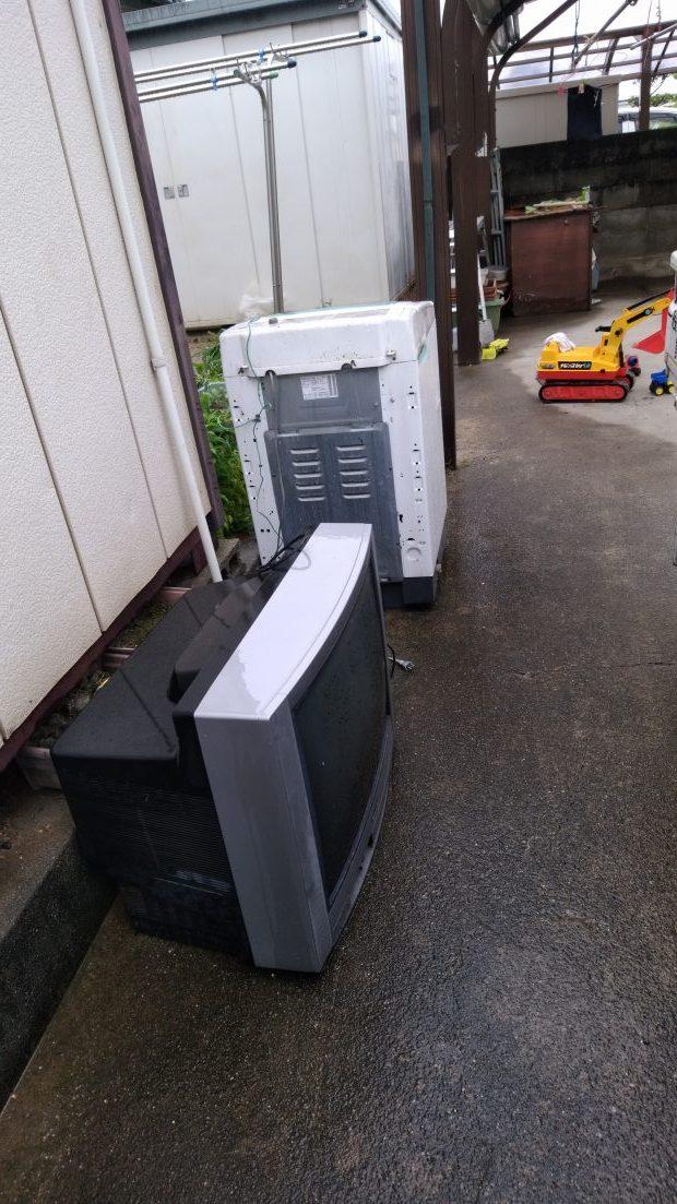 板野郡北島町でテレビ、冷蔵庫の回収 施工事例紹介
