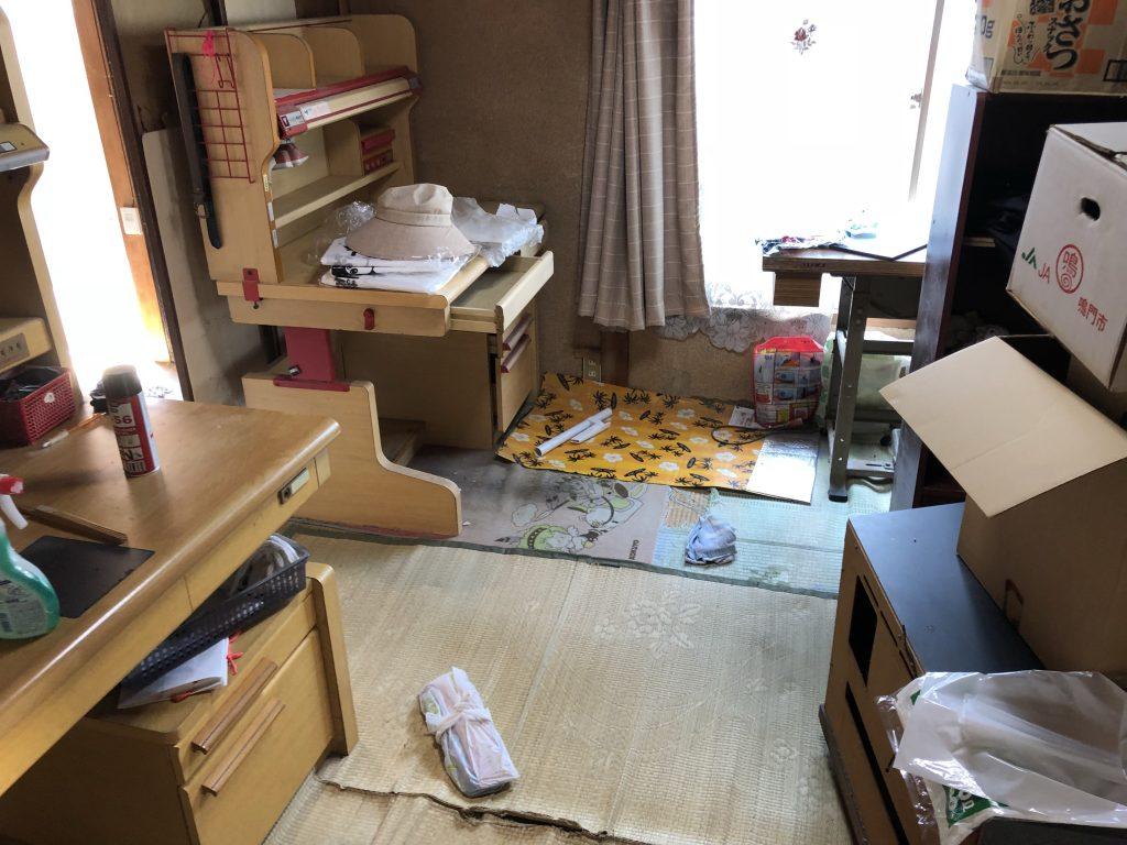 【藍住町】引っ越し後に残った大型家具の回収