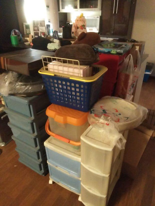 【阿波市土成町】2トントラック2台分の不用品回収☆家具から雑貨までまとめて回収し、家の中が片付いたとお喜びいただけました!