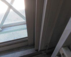 【小松島市】窓ガラス、サッシの清掃☆手入れのしづらい箇所もきれいになり、喜んでいただけました!