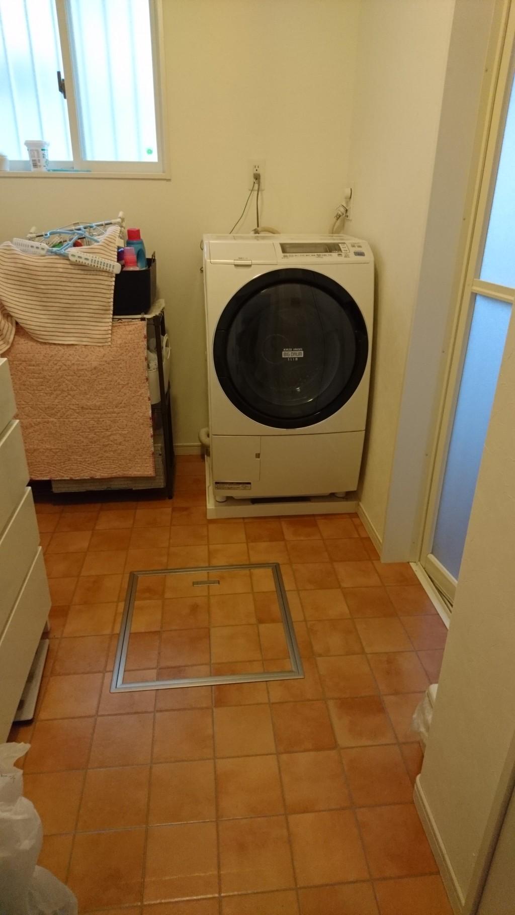 【松茂町】洗濯機の排水溝の詰まり修理のご依頼☆とても感じが良かったですとお喜びいただけました!