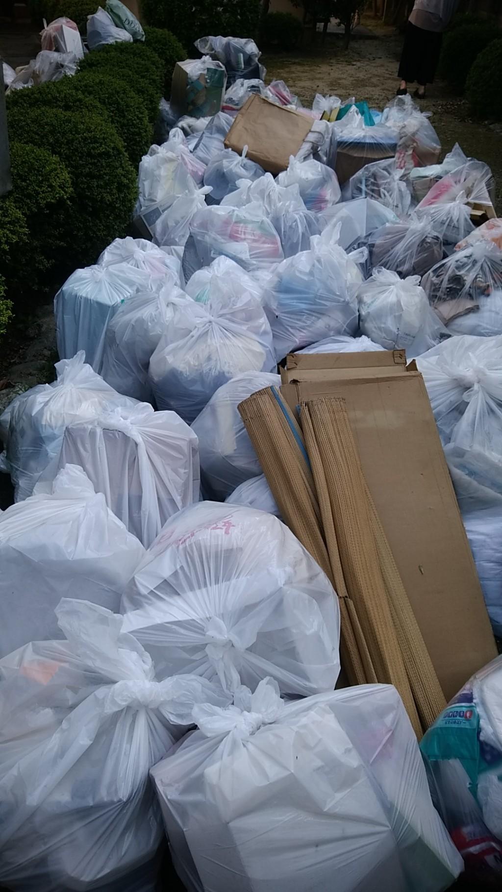 【吉野川市】2t1台程度の出張不用品回収・処分ご依頼