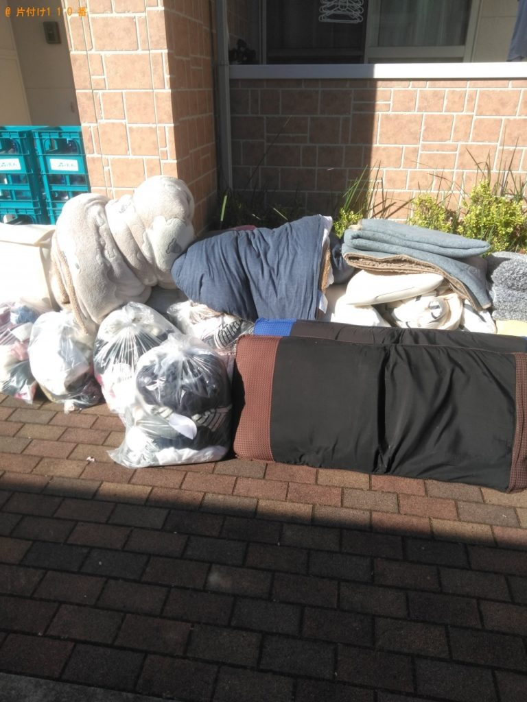 【目黒区】遺品整理に伴い布団、衣類、カーペットの回収・処分 お客様の声