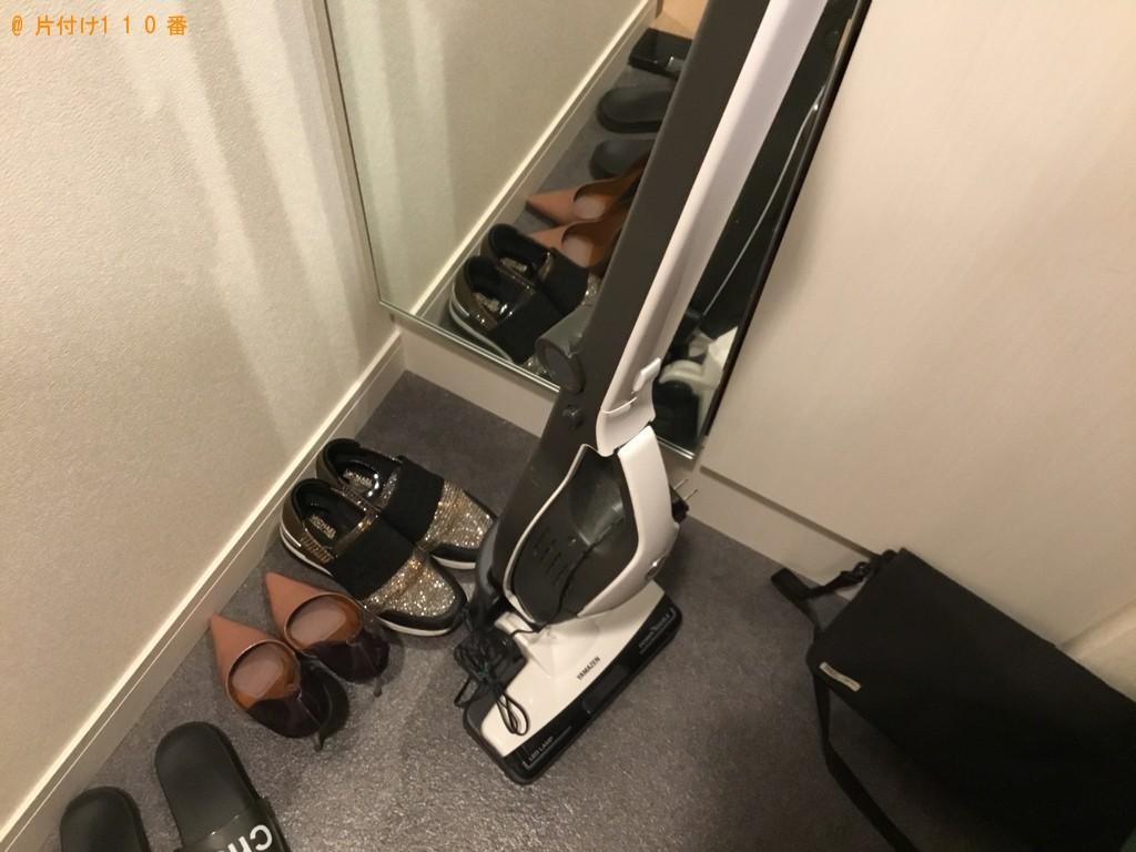 【徳島市】鏡台、椅子、スティック型掃除機の回収・処分ご依頼