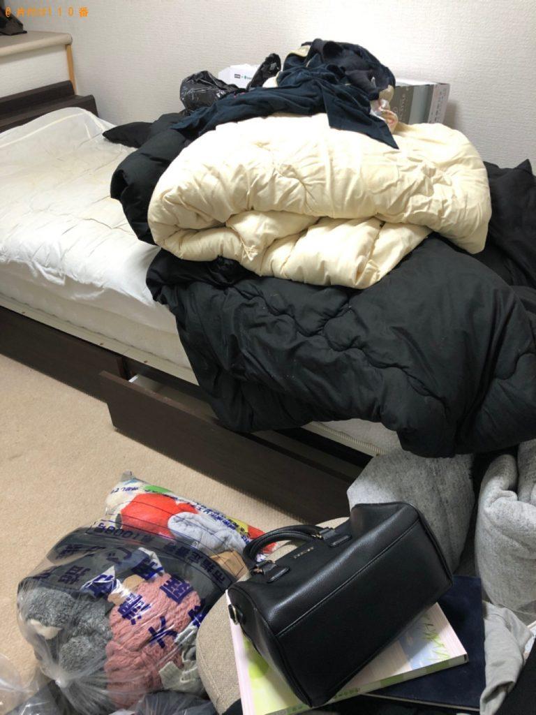 【板野町】シングルベッド、ベッドマットレス、椅子等の回収・処分