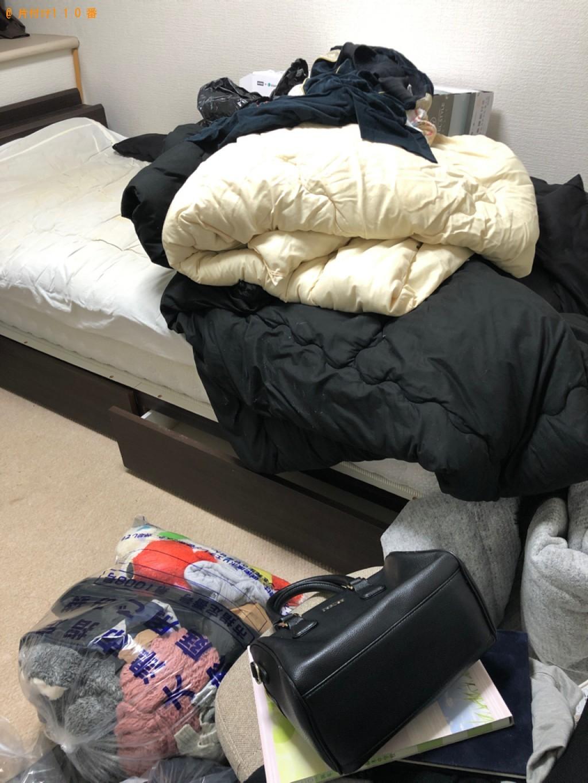 【徳島市】シングルベッド、ベッドマットレス、椅子等の回収・処分