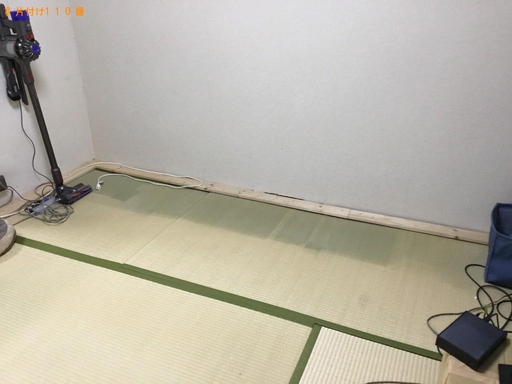 【徳島市】二人用ダイニングテーブル、ラック、テーブル等の回収