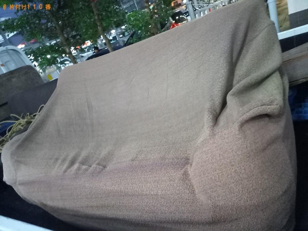 【徳島市】三人掛けソファーの回収・処分ご依頼 お客様の声