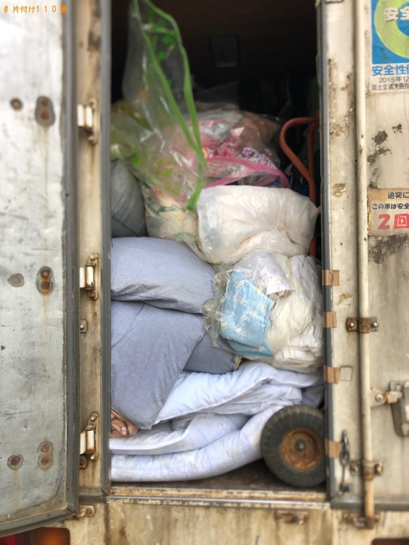 【徳島市】布団、家具等の回収・処分ご依頼 お客様の声