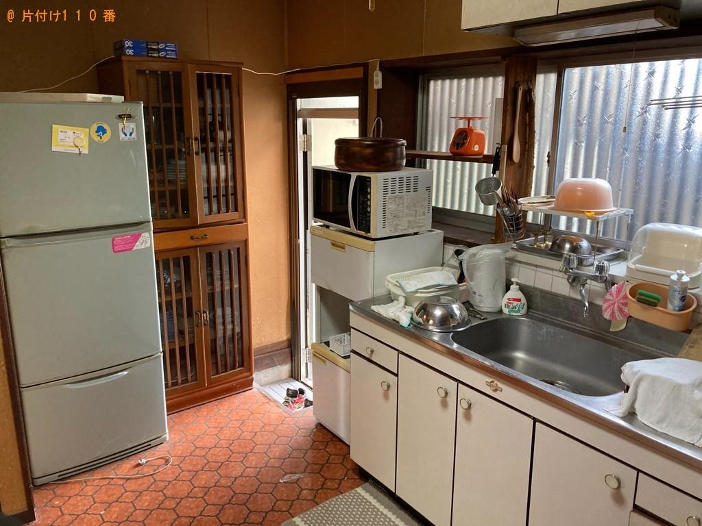 【徳島市】冷蔵庫、タンス、クローゼット、仏壇、かご等の回収・処分