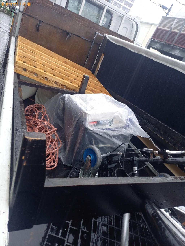 【徳島市】シングルベッドの回収・処分ご依頼 お客様の声