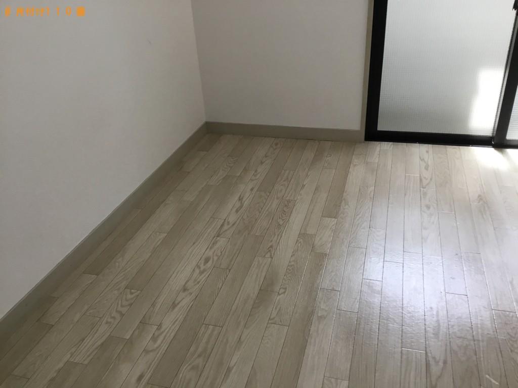 【徳島市】テレビ、シングルベッドマットレス、布団、掃除等の回収