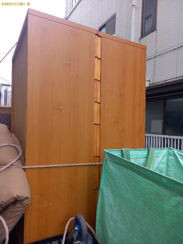 【徳島市】鏡台、椅子、タンス等の回収・処分ご依頼 お客様の声